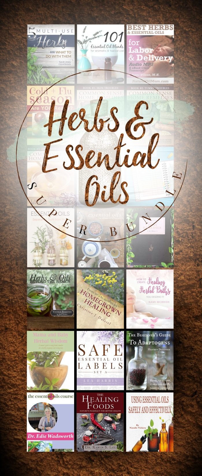 Herbs & Essential Oils Super Bundle